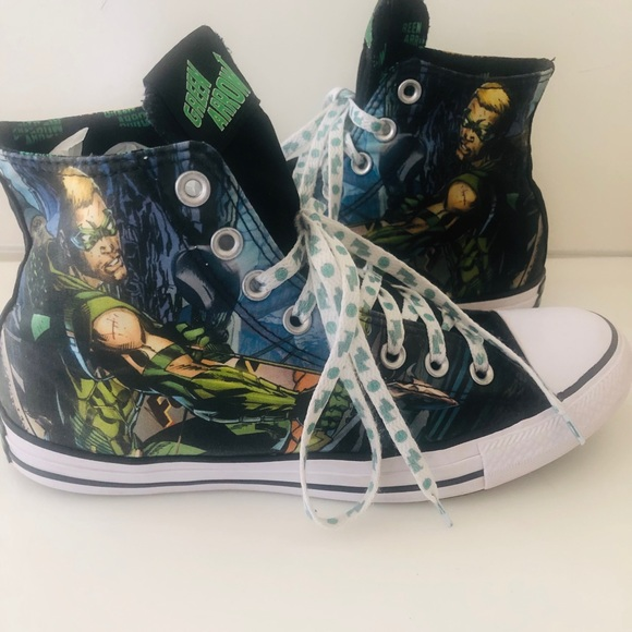 420b3a2f04fc Converse Other - Converse DC Comics GREEN ARROW Hi Top Sneakers